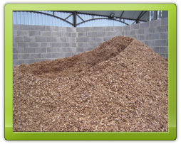 Stored Woodchip